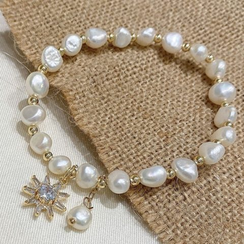 Fresh Water Pearls Bracelet