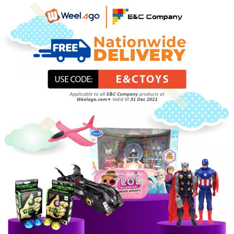 2021 05-MAY RRR Event - Promo Code E&CTOYSRRR - E&C COMPANY - Free Shipping - Web-01