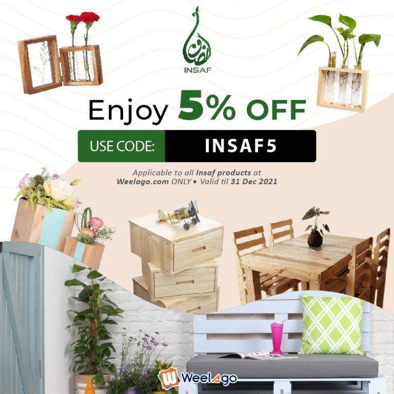 2021 05-MAY RRR Event - Promo Code INSAF5 - INSAF - 5% Off - Web-01