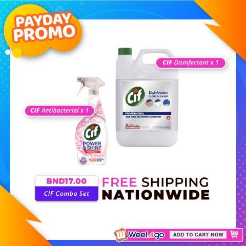 Weelago Payday Promo July 2021 - CIF Combo Set Free Shipping